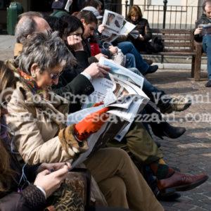 Piazza San Carlo 1 – Stampa 30×20 cm