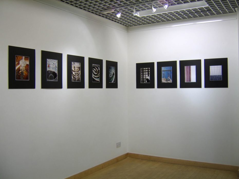 Labirinti, galleria Space C, Croydon Clocktower, Londra
